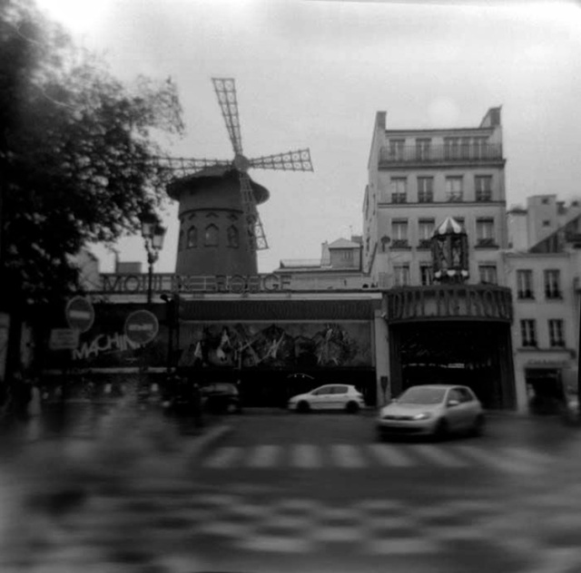 The Moulin Rouge, Paris 2011